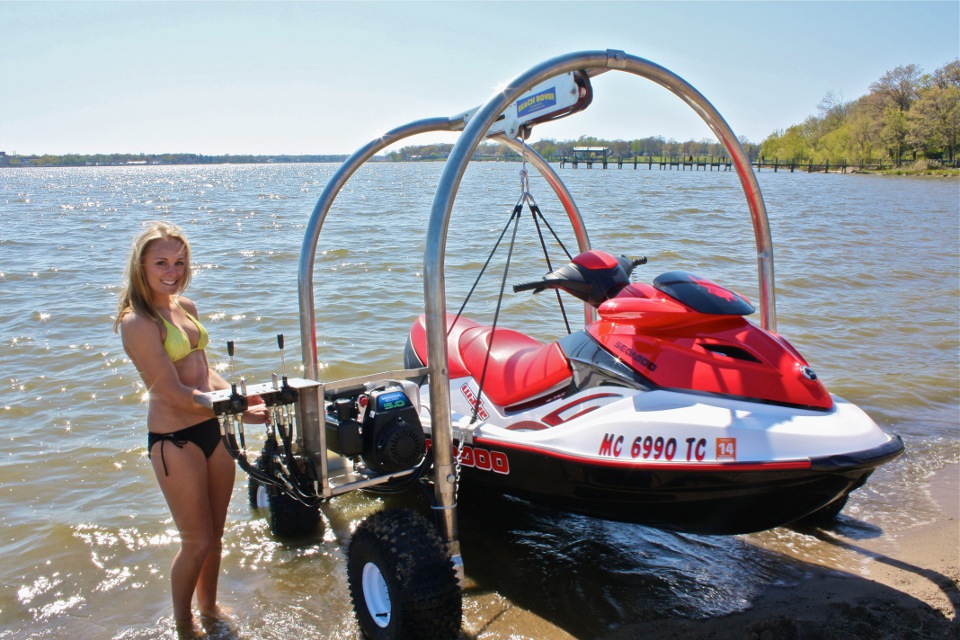 Video: Meet The Beach Rover, The Ultimate PWC Dolly | The Watercraft Journal | the best resource ...