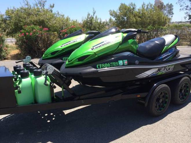 Deal of The Day: Two '12 Kawasaki Ultra 300X Jet Skis & Trailer ...
