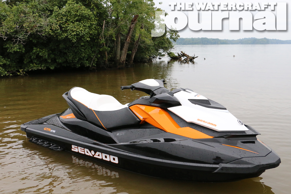 Everything Counts: 2014 Sea-Doo GTR 215   The Watercraft