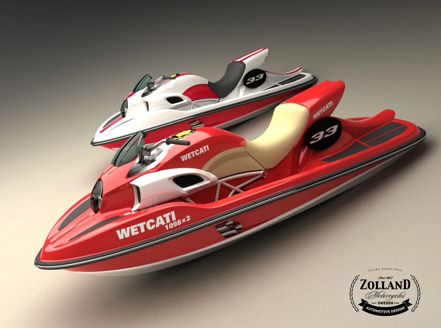 320HP Ducati-Inspired Jet Ski With Twin Ducati 1098 Engines | The Watercraft  Journal | the best resource for JetSki, WaveRunner, and SeaDoo enthusiasts  and ...
