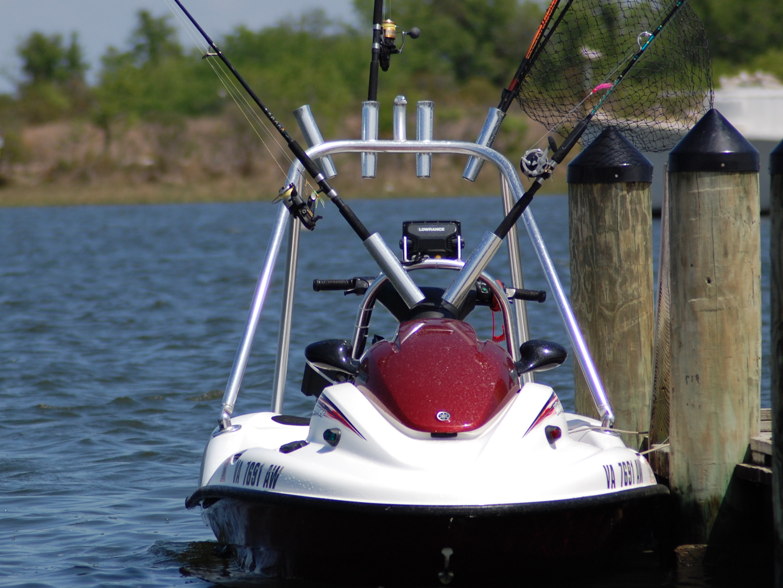 Quick Tech Rigging A Jet Ski For Offshore Fishing The