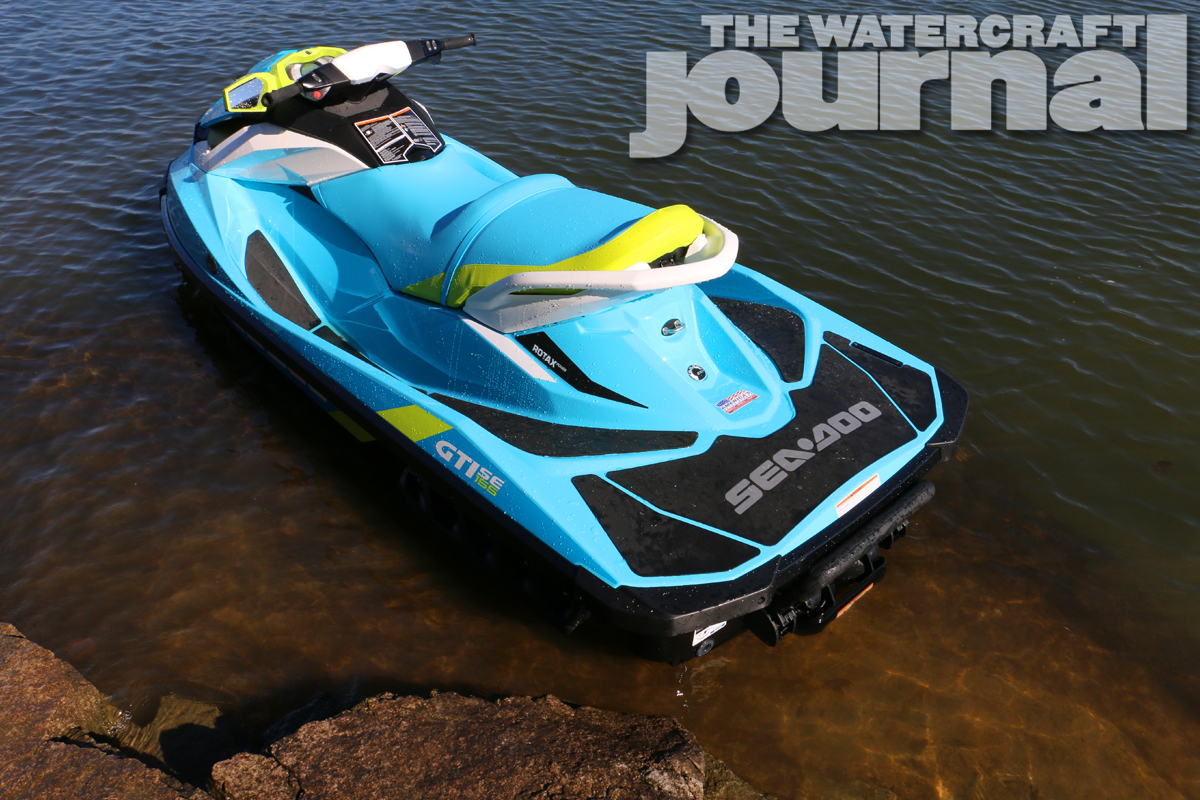 tropical punch 2015 sea doo gti 155 se the watercraft journal the best resource for jetski. Black Bedroom Furniture Sets. Home Design Ideas