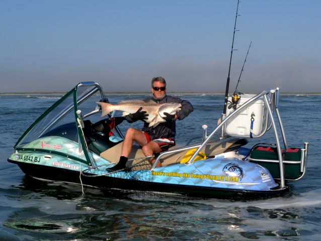 Book your 2015 jet ski fishing adventure with jet ski for Fish house skis