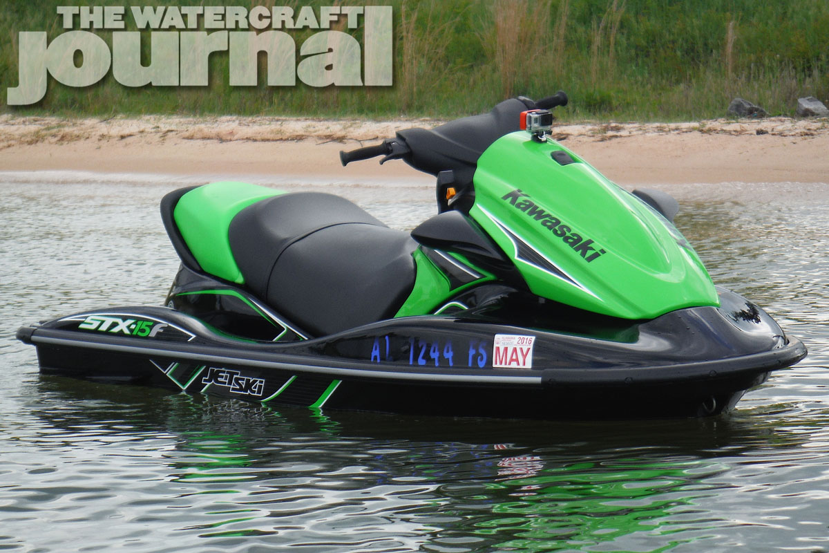 Baker's Dozen: 2015 Kawasaki STX-15F JetSki | The Watercraft Journal