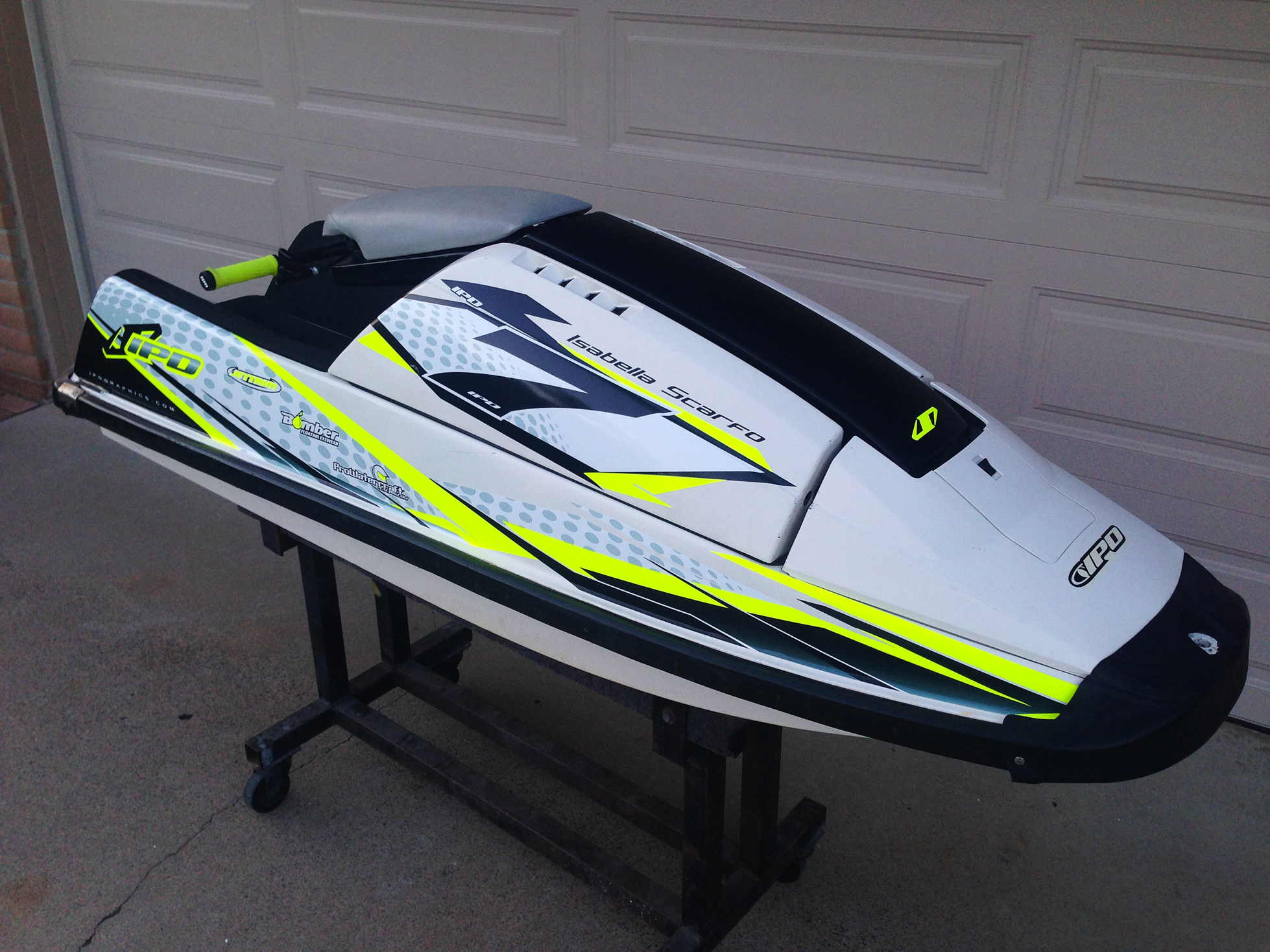 Gallery ipd graphics 39 superjet squarenose transformation for Yamaha superjet wraps