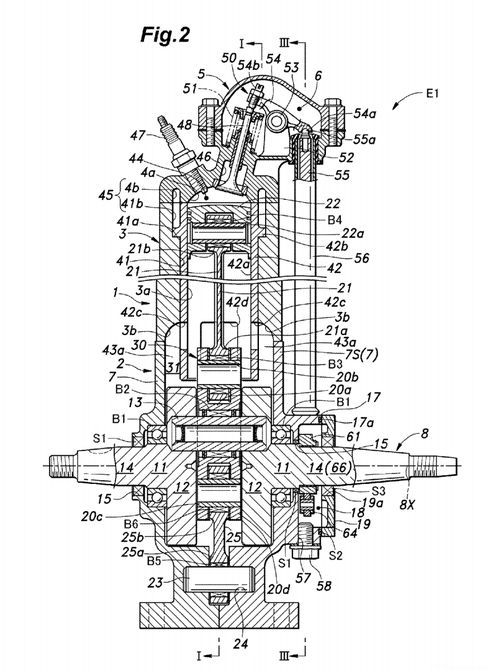 honda patent fuel injected 2 stroke engine 4 the watercraft honda patent fuel injected 2 stroke engine 4