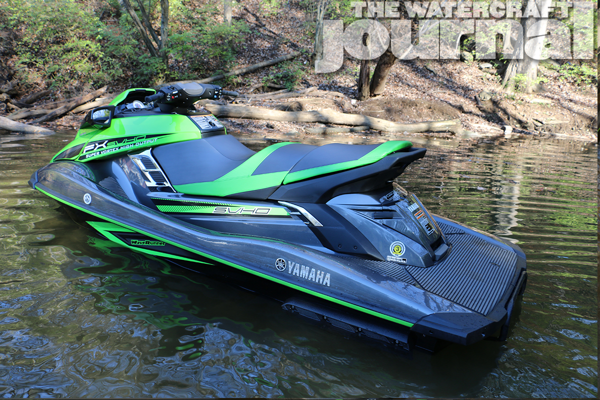 beyond the pale 2016 yamaha fx svho waverunner the