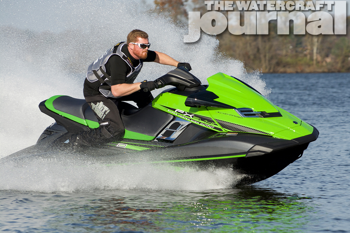 Beyond The Pale: 2016 Yamaha FX SVHO WaveRunner | The