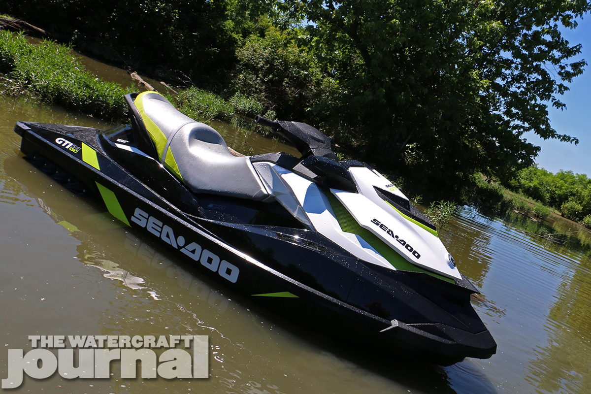 Simple Solutions: 2016 Sea-Doo GTI SE 130 | The Watercraft Journal