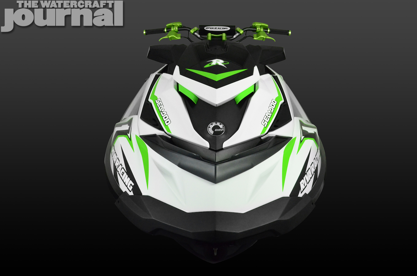 Green Seadoo RXP front
