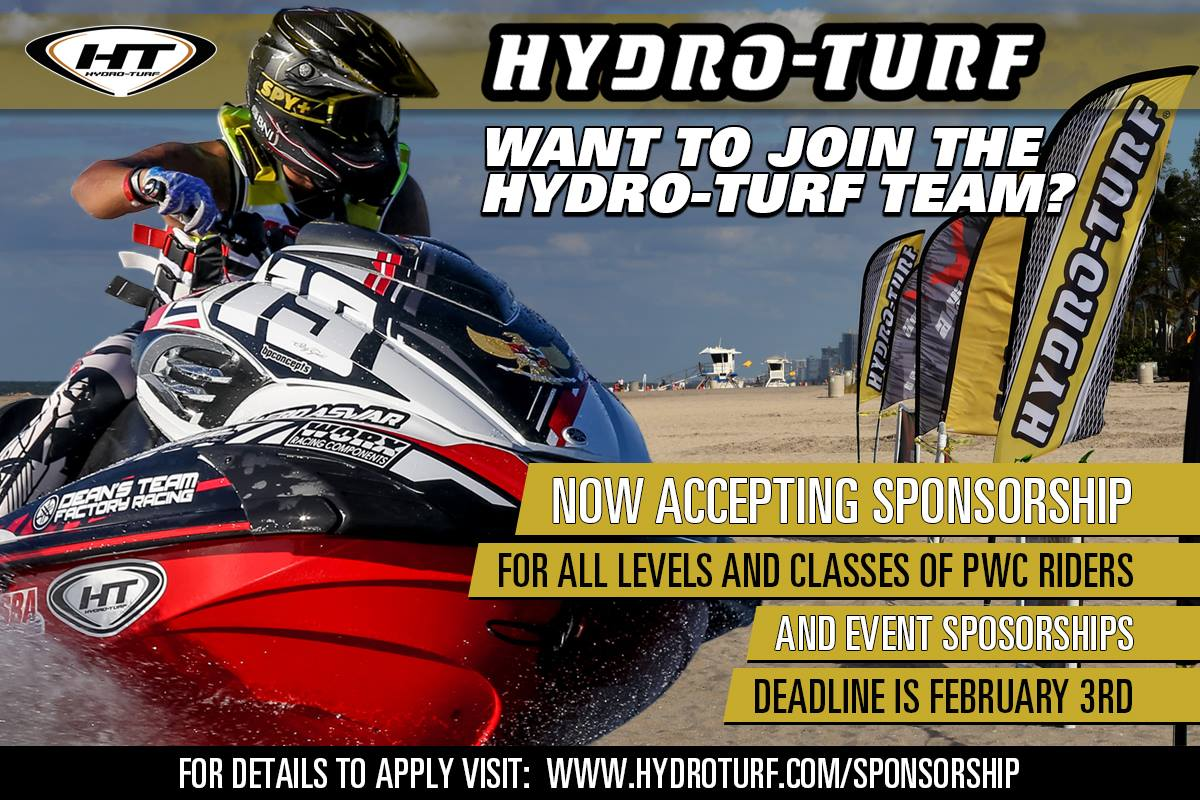There's One Day Left To Become a Hydro-Turf Sponsored Rider | The
