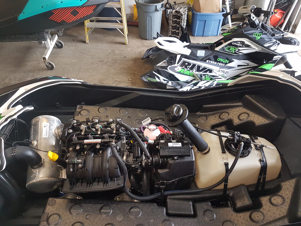 Gallery: JetX Powersports Builds Its RIVA Racing-Equipped