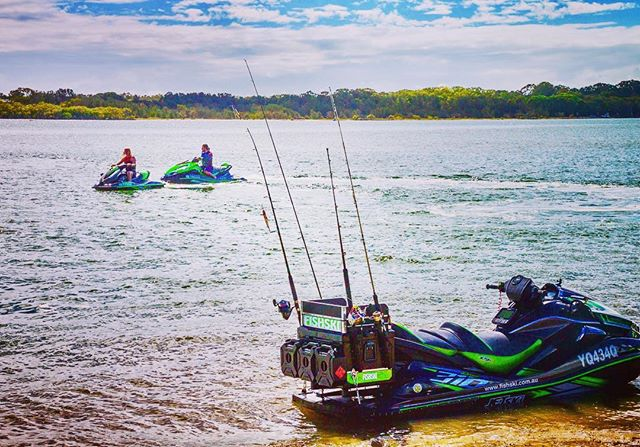 Fishski is the ultimate all in one pwc fishing pwc for Best jet ski for fishing