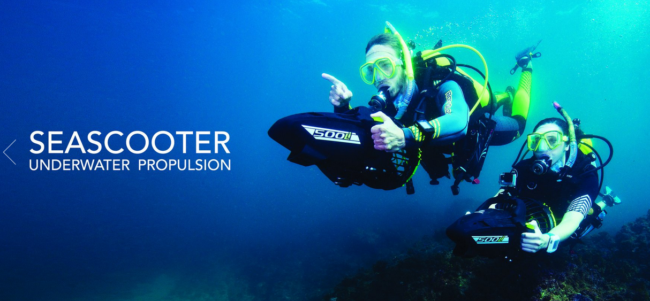 Yamaha makes new underwater sea scooter the watercraft for Yamaha water scooter