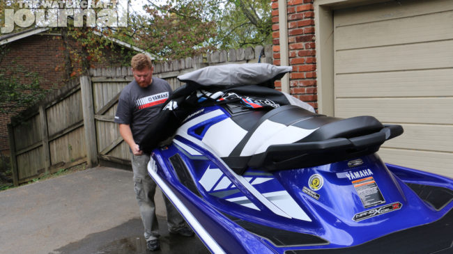 Real Review: Yamaha Genuine Parts GP1800 Watercraft Cover