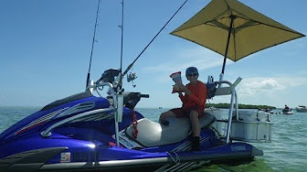 Yamaha Vx Deluxe >> Video: How to Setup Your Yamaha WaveRunner Into a Fishing ...