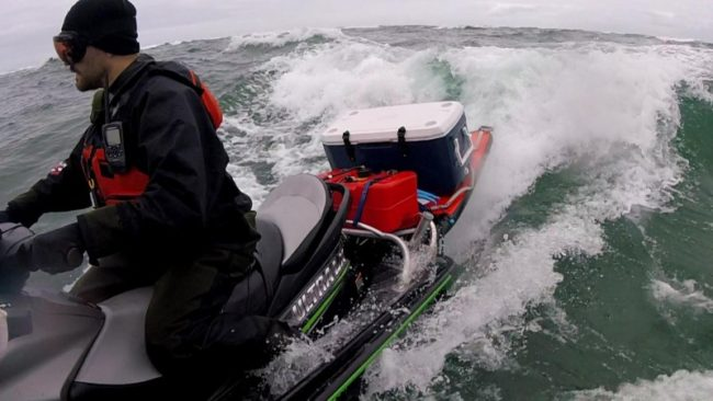 Jet ski fishing in the pacific northwest the watercraft for Best jet ski for fishing