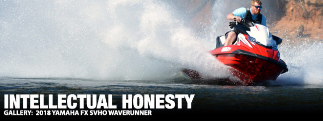 Intellectual Honesty: 2018 Yamaha FX SVHO WaveRunner | The