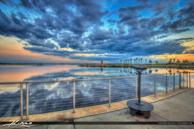 x114x-Spy-Glass-looking-at-Lighthouse-at-Lakefront-Park-in-Kissimmee-Florida