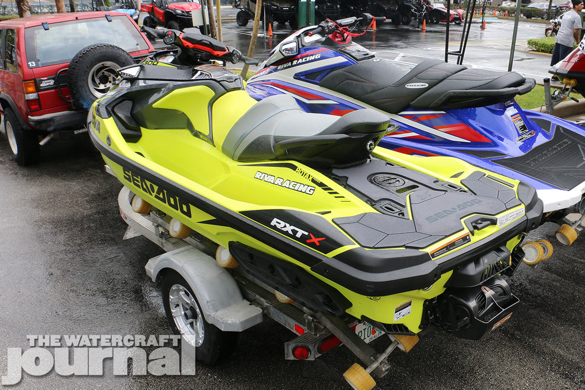 Gallery: RIVA Racing's Stage III-Equipped 2018 Sea-Doo RXT-X