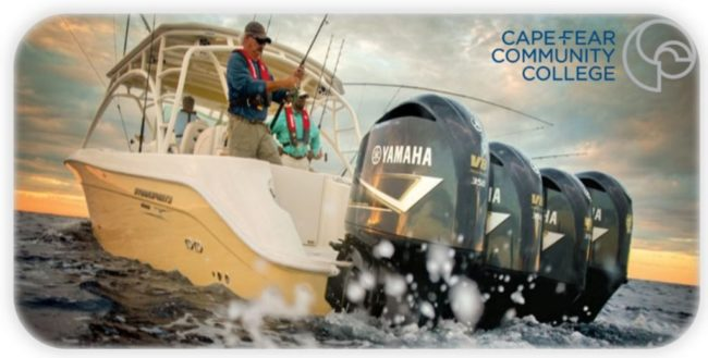 cape fear community college offers yamaha outboard systems