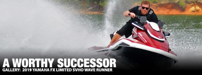 A Worthy Successor: 2019 Yamaha FX Limited SVHO (Video) | The