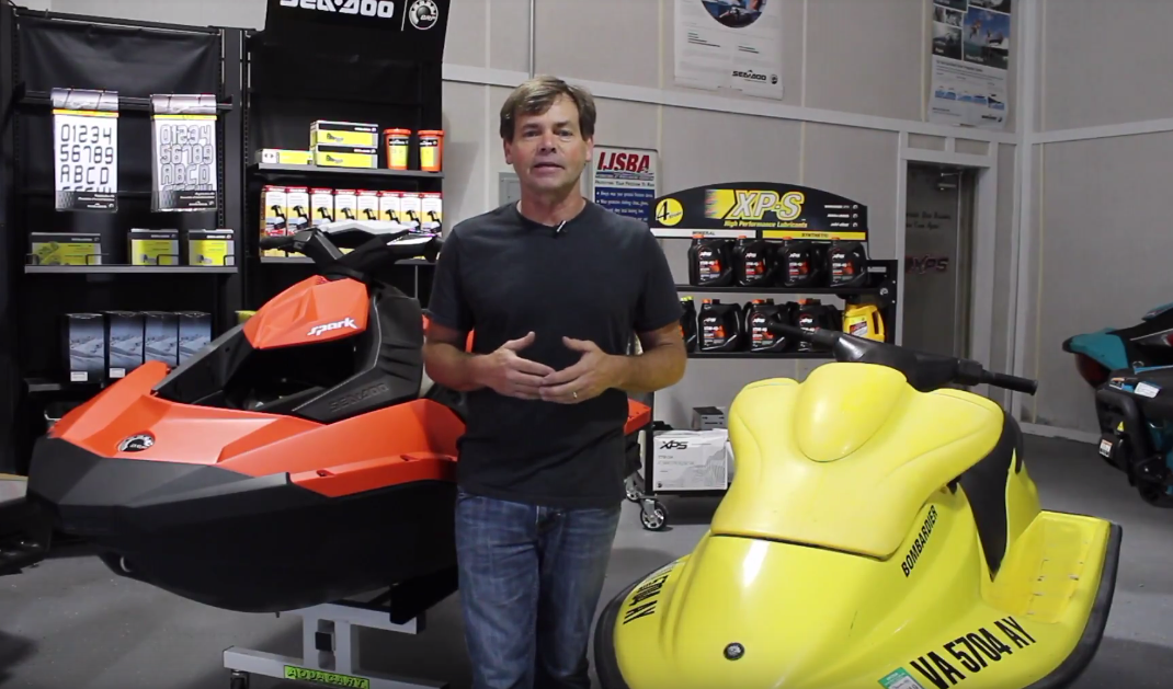 Video: Comparison Between Sea-Doo's '96 XP vs  '18 Spark