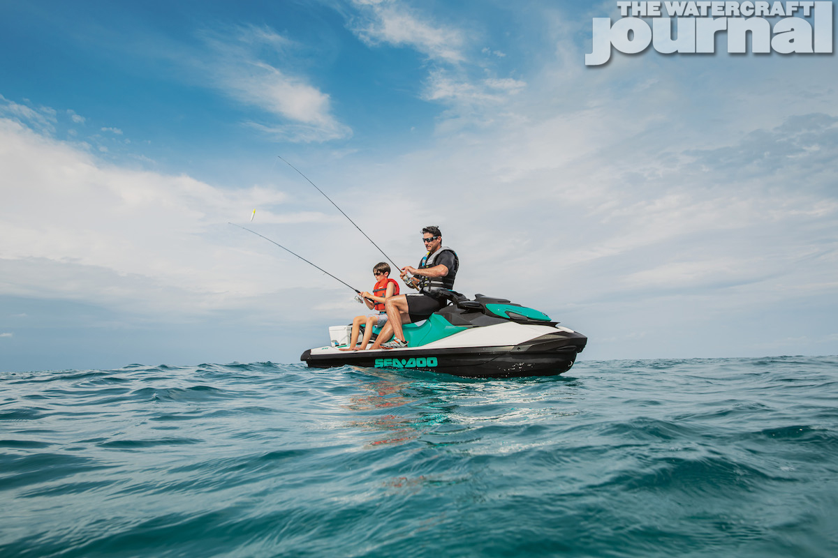 2020 Sea-Doo GTI 90 Fishing