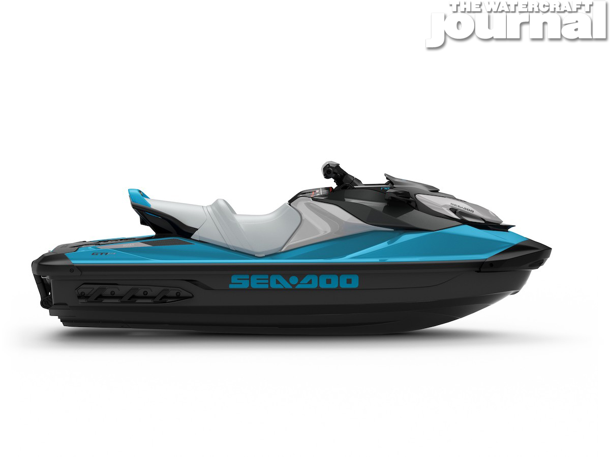 2020 Sea-Doo GTI SE 170 Beach Blue - Studio Profile
