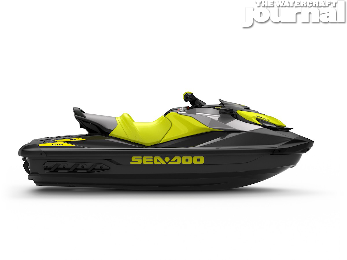 2020 Sea-Doo GTR 230 Neon Yellow - Studio Profile
