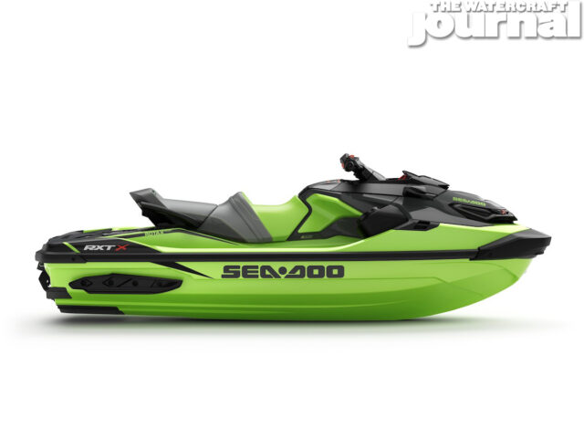 2020 Sea-Doo RXTX 300 w-sound California Green Studio Profile copy