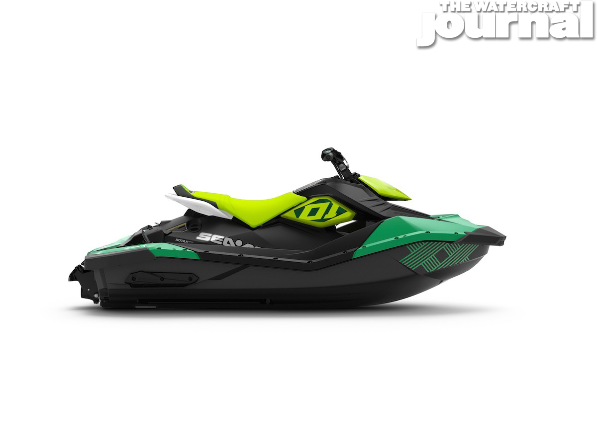 2020 Sea-Doo SPARK 2up TRIXX Jalapeno Pear Studio Profile