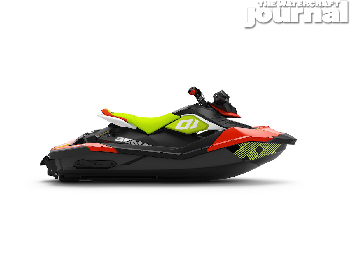 2020 Sea-Doo SPARK 2up TRIXX SS Chilii Pepper Pear Studio Profile