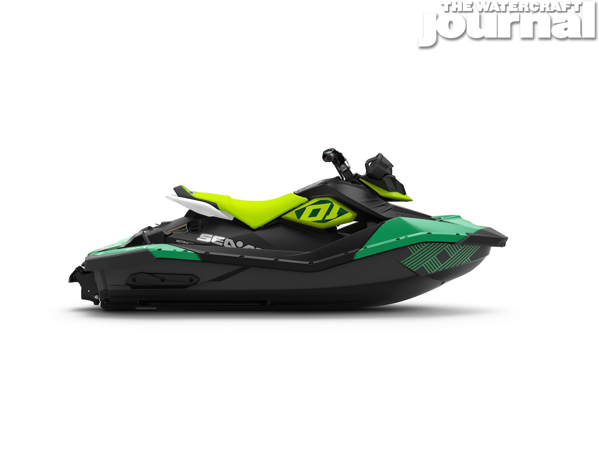 2020 Sea-Doo SPARK 2up TRIXX SS Jalapeno Pear Studio Profile