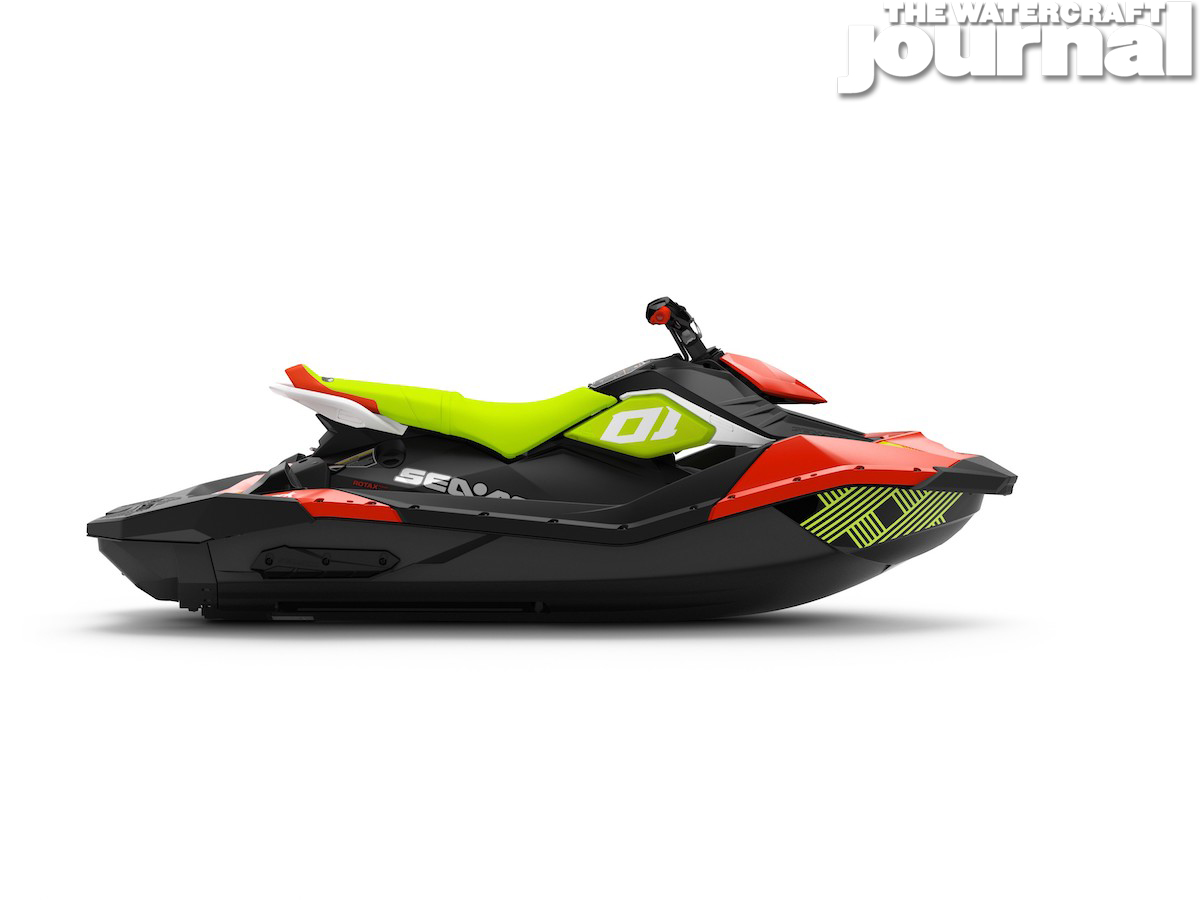 2020 Sea-Doo SPARK 3up TRIXX Chilii Pepper Pear Studio Profile