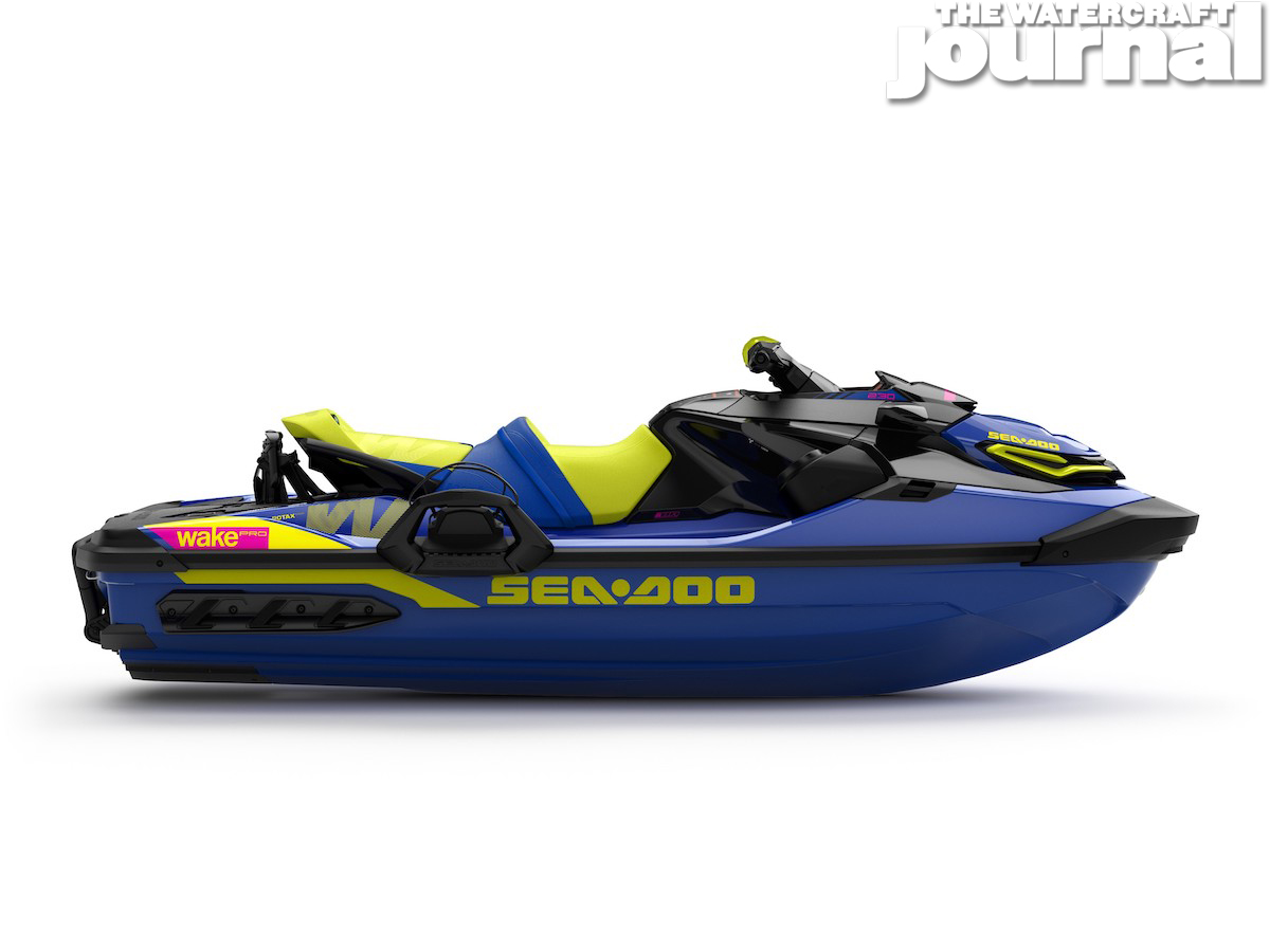 2020 Sea-Doo WAKE Pro 230 w-sound MalibuBlue Studio Profile