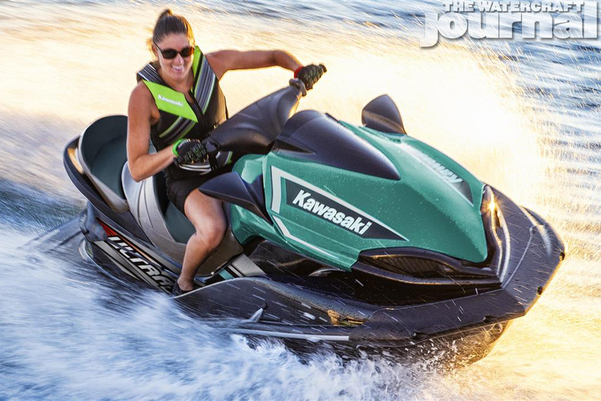 JET SKIING jetski DECAL waverunner seadoo ski kawasaki yamaha STICKER any COLOR